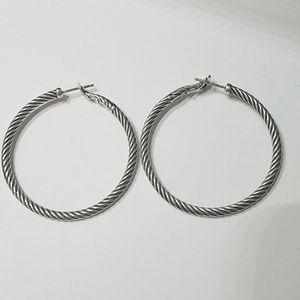 David Yurman Classic Cable Hoop Earrings
